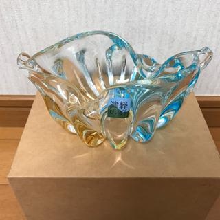 未使用☆津軽びいとろ 貝型の花瓶