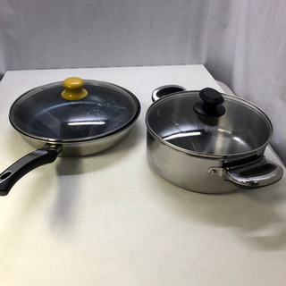 Vita Craft フライパンとMEYER 両手鍋 中古 美品