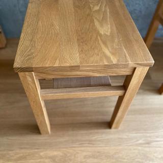 無印良品 オーク材テーブル