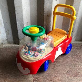 1012-1 ディズニー 子供用 乗り物 収納付き プープーなります