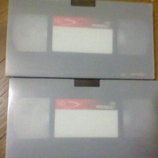 未使用ビデオテープ2点と中古ビデオデッキクリーナー2点無料であげます。