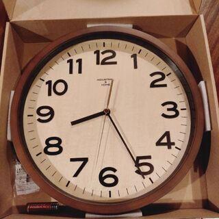 未使用の電波時計