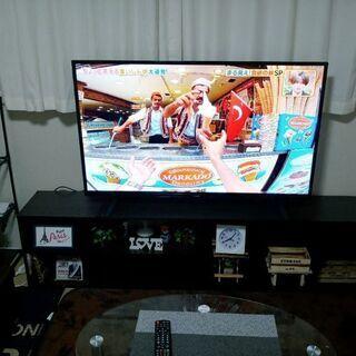 最終値下げです 4K対応美品の50型TV
