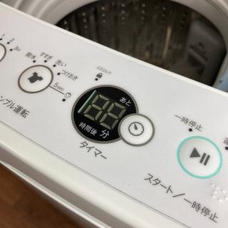 ☆取付・配送無料☆4.5kg ハイアール洗濯機 JW-C45A-K 2018年製 - 売ります・あげます