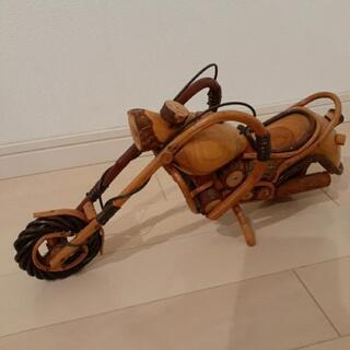バイクの置き物