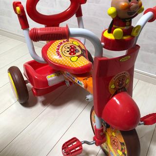 【値下げ中】アンパンマン三輪車