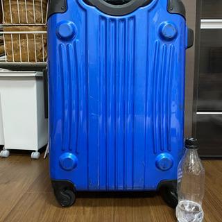 【取引中】スーツケース  青 の画像