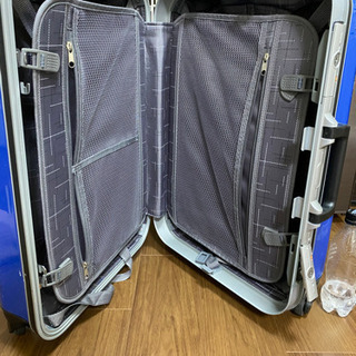 【取引中】スーツケース  青  - 靴/バッグ