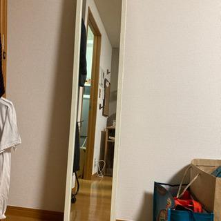 ニトリ鏡(姿見)白