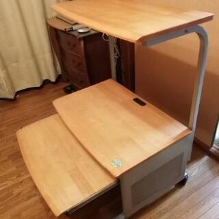 高級天然木天板・パソコンデスクを売ります