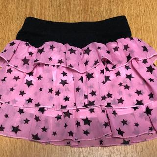 女の子 90 スカート (中古美品)