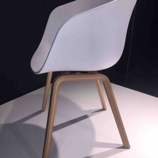 HAY ABOUT A CHAIR AAC22/白 - 家具
