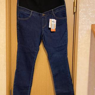 【タグ付き】マタニティデニム LLサイズ 裏起毛 定価2,449円