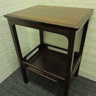 【ネット決済・配送可】ss1648 マルニ サイドテーブル 木製...