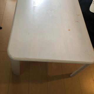 ローテーブルホワイト