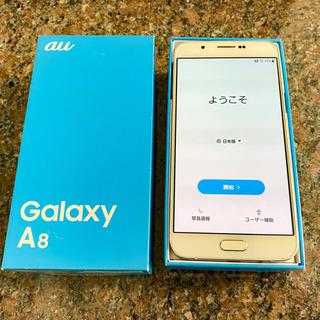 【ネット決済】【美品】Galaxy A8 White 32 GB...