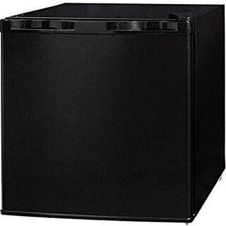ミニ冷蔵庫 ひとり暮らし 新生活 コンパクト(46Lブラック)