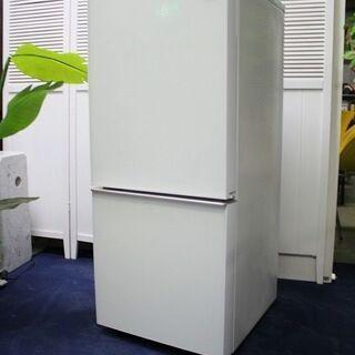 R2124) SHARP シャープ 2ドア冷蔵庫 ガラストップ ...
