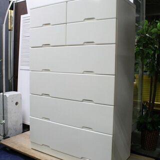 R2143) マルミツ  6段チェスト 整理タンス ホワイトカラ...