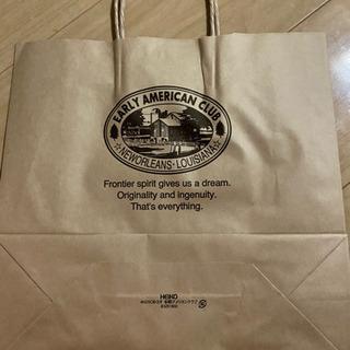 茶色の紙袋