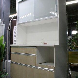 R2150) 高橋木工所 キッチンボード カリノ 120 オープ...