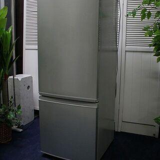 R2155) SHARP シャープ 2ドア ノンフロン 冷凍冷蔵...