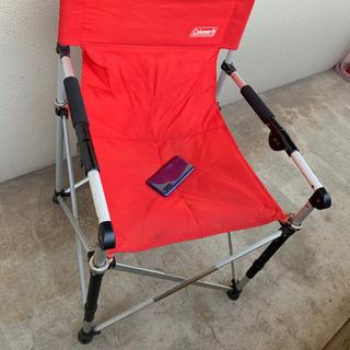 【決まりました】コールマン★アウトドア用★折りたたみ椅子 - 倉敷市