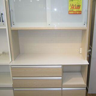 R229 食器棚・レンジボード・キッチンボード 幅116cm 美品
