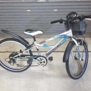 『お取引完了』自転車 子供用(男の子用) 24インチ