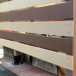 格安🉐自由設計🙌 人工木目隠しフェンス