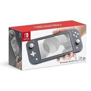 Nintendo Switch Lite グレー 未開封新品
