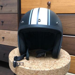 【ネット決済】ほぼ未使用品 バイク ジェットヘルメット