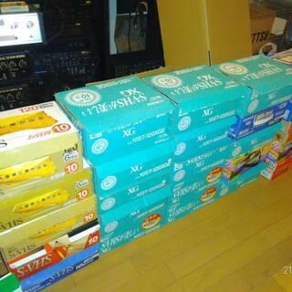 S-VHSテープ 1箱 10本セット 120分 現在のこり5箱 ...