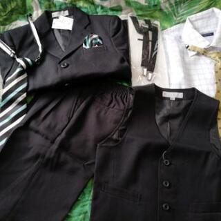 120㎝ 男の子スーツ 入学式 七五三 新品未使用です 双子 − 埼玉県