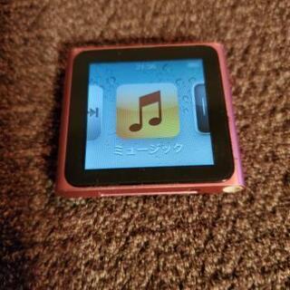 iPod nano 第6世代 16G ピンク ケーブル付き
