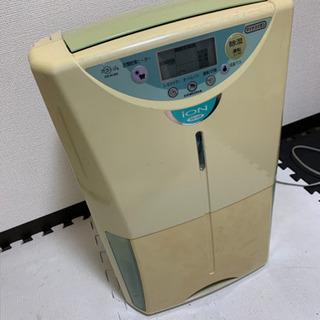 除湿機 除湿器 温風乾燥 マイナスイオン