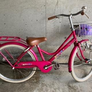 ★決定★お譲り致しました(^-^)女児 自転車 22インチ