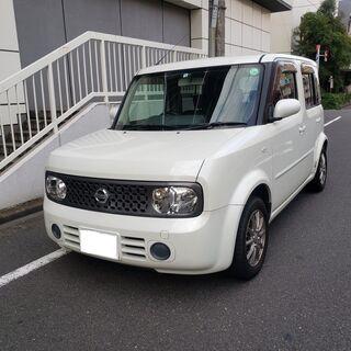 キューブ15M H20最終モデル 車検3年1月 走行73000キ...