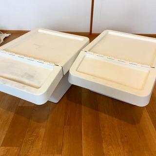 【中古】IKEA SORTERA(ソルテーラ)ゴミ箱 2コ…