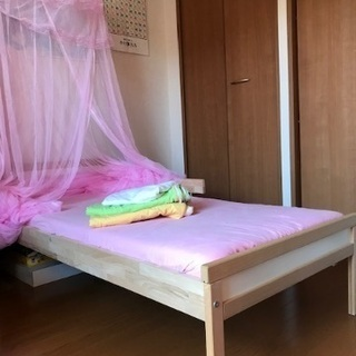 キッズベッド 子供用ベッド  マットレスの画像