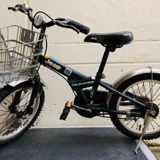 取引完了 中古 子供用自転車 ブランド品 Jeep自転車 16イ...