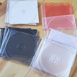 CD.DVDの空ケース15枚