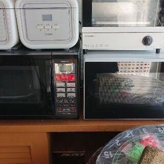 電子レンジ、オーブンレンジ(残り各1台ずつ)4000円の画像