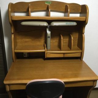 コイズミ製 学習机 勉強机 木
