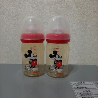 ピジョン ミッキー哺乳瓶2本セット