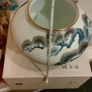 大倉陶園 「老松」 花瓶✨(サイズはスケールをご参照) 華…