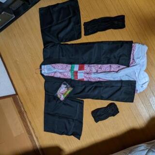 ハロウィン用 新品未使用 鬼滅の刃 禰豆子 130cm用コスプレ衣装