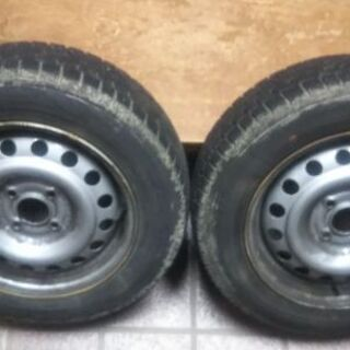 最終値下げ。日産マーチK12 スタッドレスタイヤ2012年製
