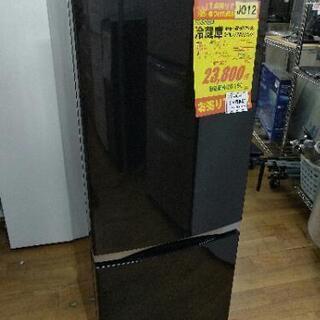 J012★6ヶ月保証★2ドア冷蔵庫★TOSHIBA GR-M15BS(K) 2018年製  ⭐動作確認済⭐クリーニング済 の画像