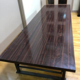 折りたたみ長テーブル 長方形 折りたたみ ローテーブル